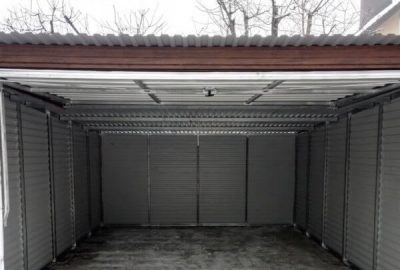 Výhody plechovej garáže