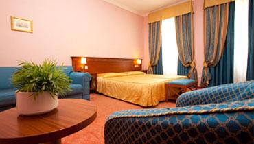 První COVID hotel se nachází v centru Prahy, Legerova 9.
