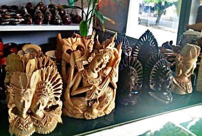 Obchod s dárkovým zbožím a ručními výrobky z Bali