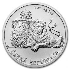 Prodej stříbrných mincí a slitků pro investory či sběratele.